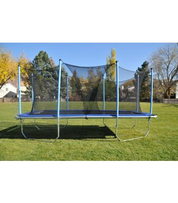 Safety Enclosure For Rectangle Trampolines