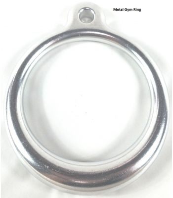 Polished Aluminum Ring - Commercial (Pair)