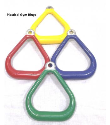 Plastisol Coated Triangle - Commercial (Pair)