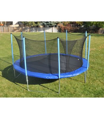 Trampoline Safety Enclosure for 13',14',15' Round Trampolines