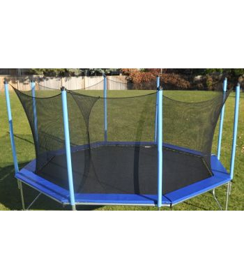 15' Octagon Trampoline with Enclosure