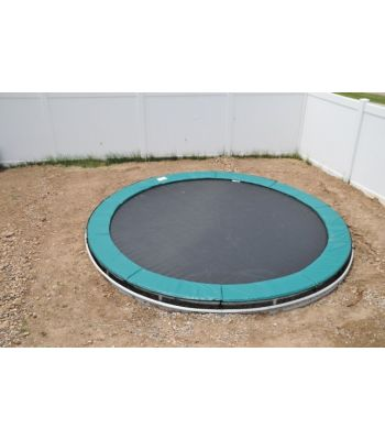 14' Round Trampoline with Inground Kit